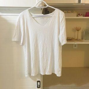 Talbots White T-Shirt